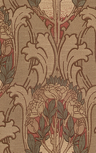 Acanthus Amp Rose Historic Wallpapers Victorian Arts