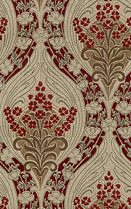 Murry Blossom Swirl Historic Wallpapers Victorian Arts