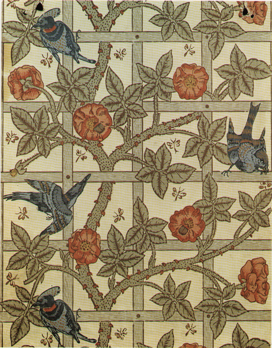 The William Morris Collection Historic Wallpapers